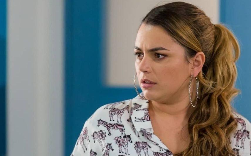 Ana Guiomar despede-se de personagem com fotografia em topless