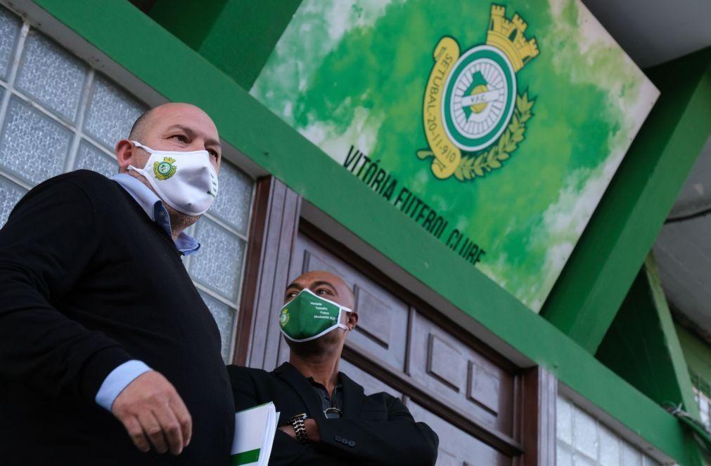 Mais de 87% dos sócios do Vitória de Setúbal confirmam saída de Paulo Rodrigues