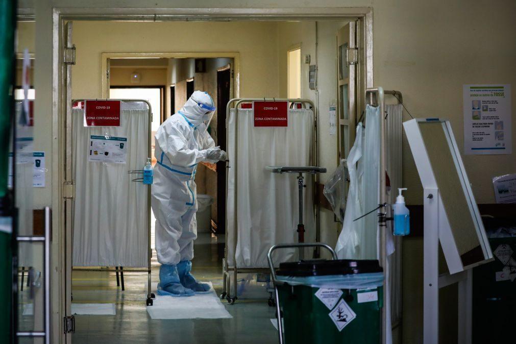Covid-19: No Hospital Militar do Porto a missão continua a ser