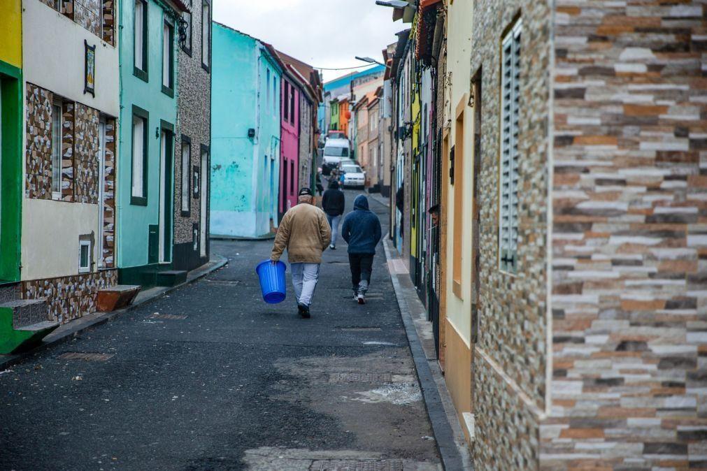 Covid-19: Vila açoriana de Rabo de Peixe com 86 casos registados em 24 horas