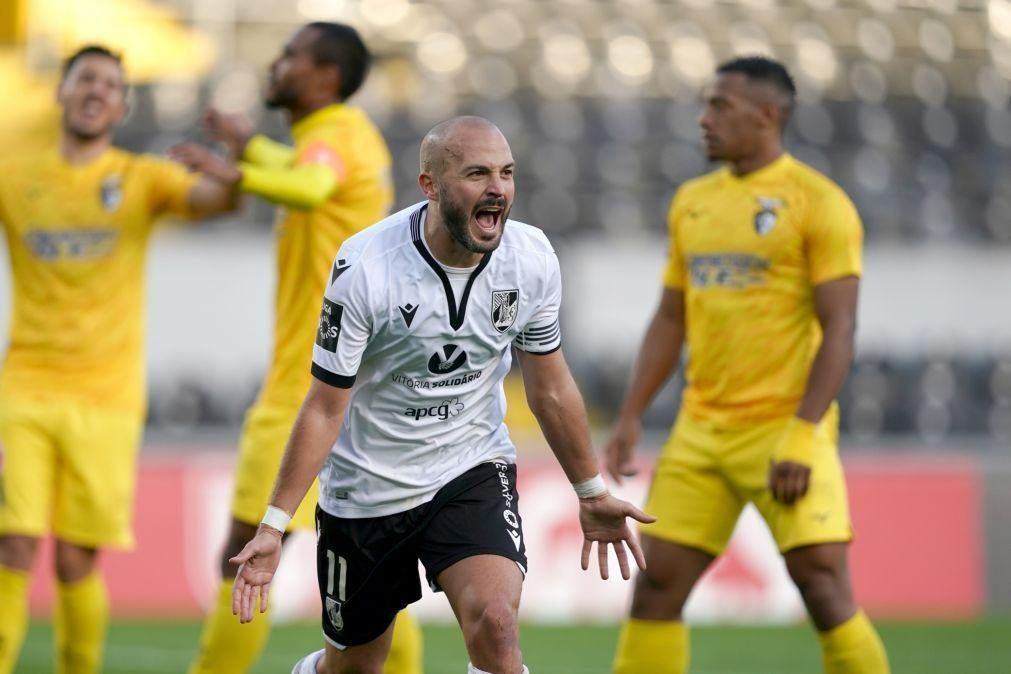Vitória de Guimarães vence Portimonense e sobe a quinto da I Liga