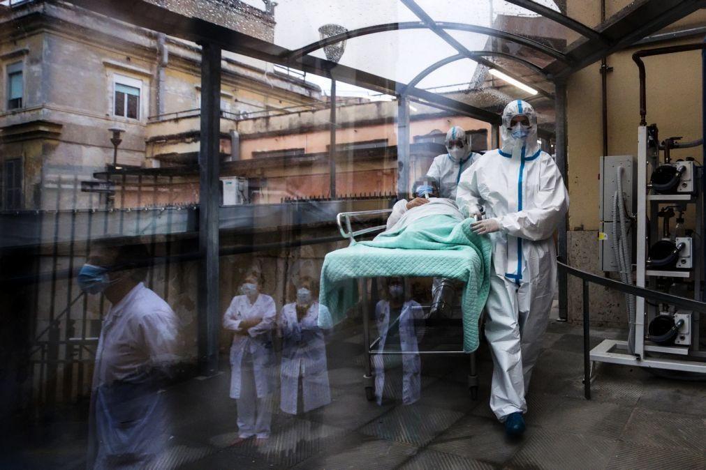 Covid-19: Itália regista 662 mortes e 21.052 novos casos nas últimas 24 horas