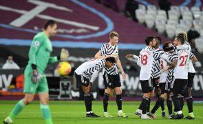 Manchester United alcança quarta vitória consecutiva após reviravolta contra West Ham