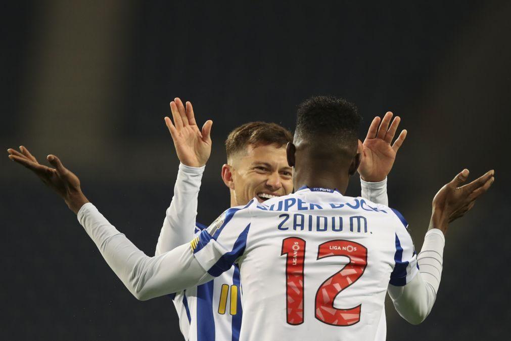 FC Porto vence Tondela e sobe provisoriamente ao segundo lugar da I Liga