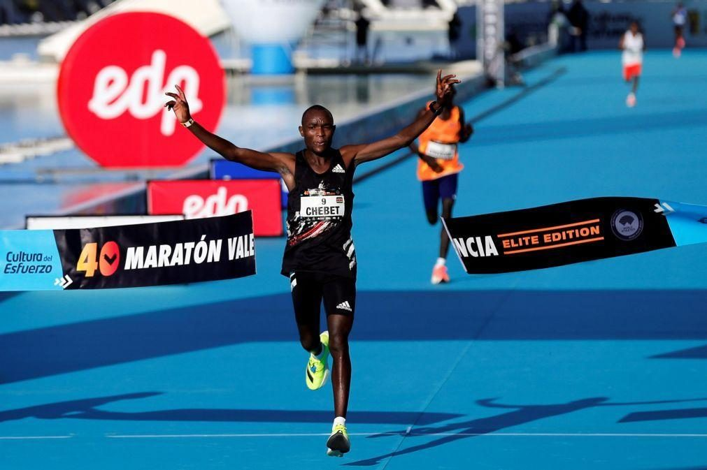 Quenianos vencem Maratona de Valência, portugueses sem mínimos olímpicos