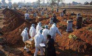 Covid-19: África com mais 291 mortes e 15.325 novos casos em 24 horas
