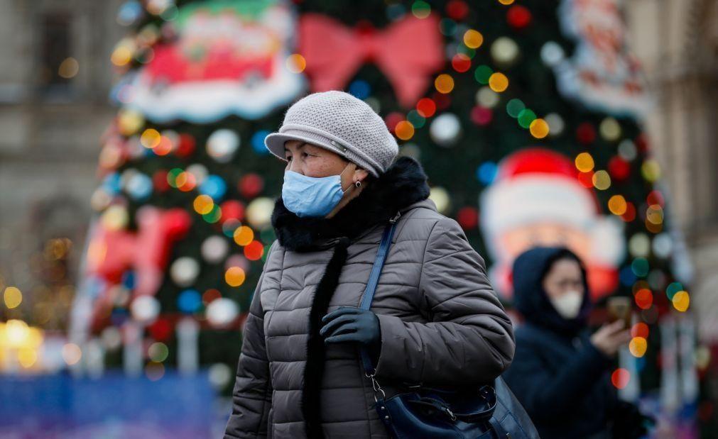 Covid-19: Rússia ultrapassa os 29 mil casos diários de infeção