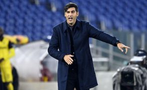 Roma, de Paulo Fonseca, soma segundo jogo sem vencer na liga italiana