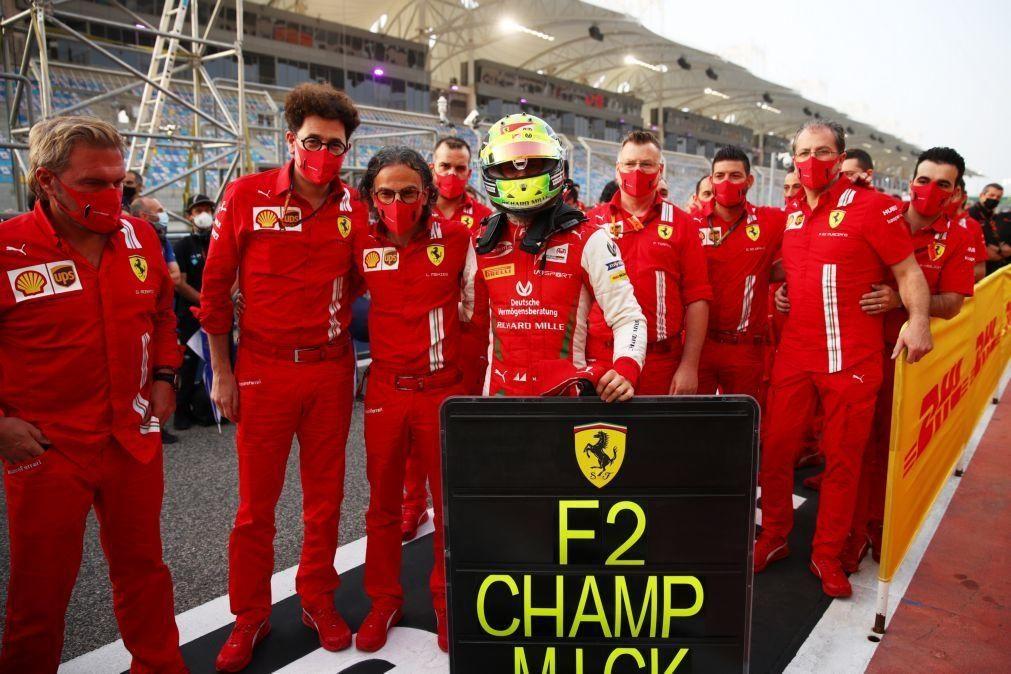 Mick Schumacher sagra-se campeão de Fórmula 2