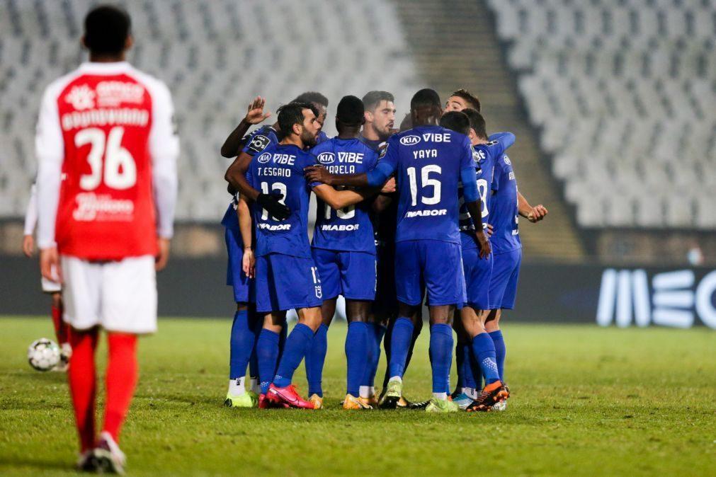 Sporting de Braga perde com Belenenses SAD e cai para o quarto lugar