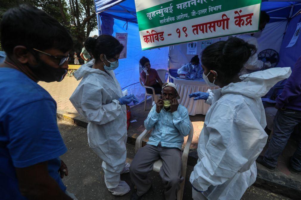 Covid-19: Índia com 391 mortos e 32.981 casos nas últimas 24 horas