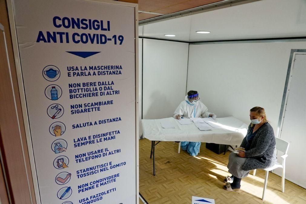Covid-19: Itália soma 13.270 novos casos e mais 528 mortes