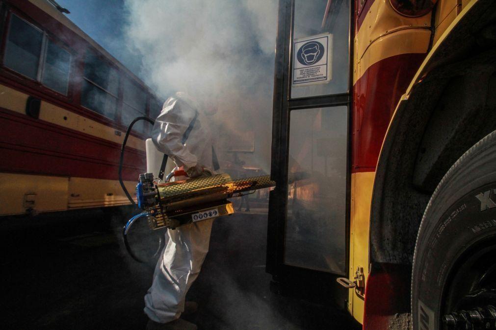 Covid-19: México com mais 357 mortos e 6.399 casos