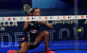 Sofia Araújo estreia-se no Master de final de ano do World Padel Tour