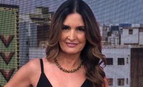 Fátima Bernardes Apresentadora diagnosticada com cancro do colo do útero