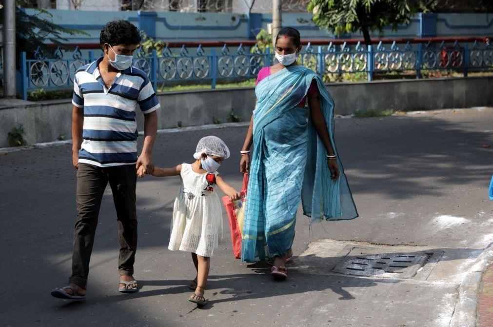 Doença misteriosa em cidade do sul da Índia causa centenas de internamentos