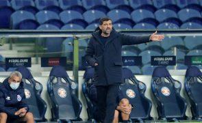 LC: Sérgio Conceição encara duelo com Olympiacos como