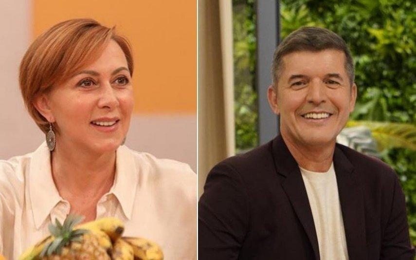 Patrões Fora SIC tem nova série com Maria João Abreu e João Baião... vestido de mulher!
