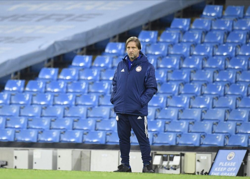 Pedro Martins confia em vitória sobre o FC Porto e passagem à Liga Europa