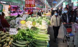 Preços ao consumidor da China caíram em novembro pela primeira vez desde 2009