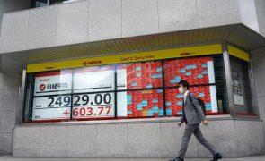Bolsa de Tóquio fecha a ganhar 1,33%