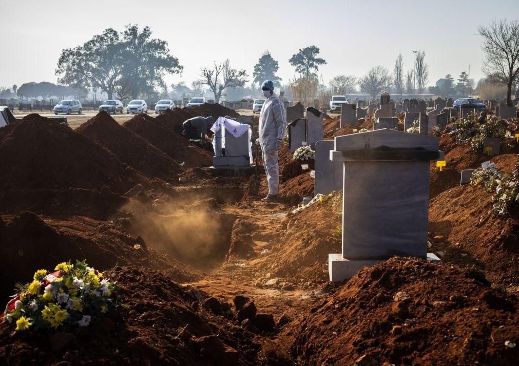 Covid-19: África com mais 463 mortes e mais 13.098 infetados em 24 horas
