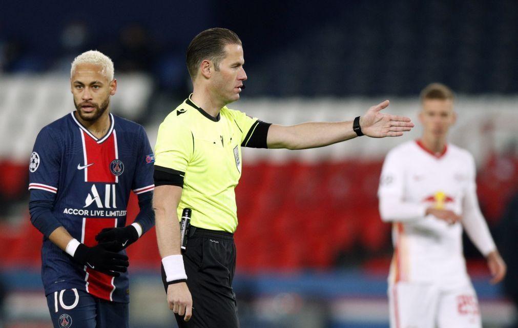 LC: Holandês Danny Makkelie dirige o que falta concluir do PSG-Basaksehir