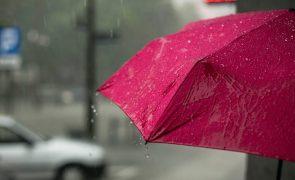 Meteorologia: Vento forte e subida da temperatura para hoje