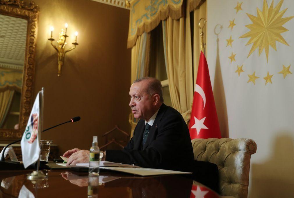 Erdogan desvaloriza eventuais sanções da UE contra a Turquia