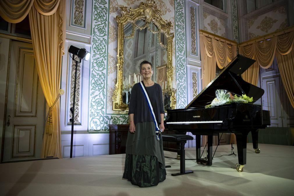 Temporada Gulbenkian de Música perde Martha Argerich e ganha Maria João Pires