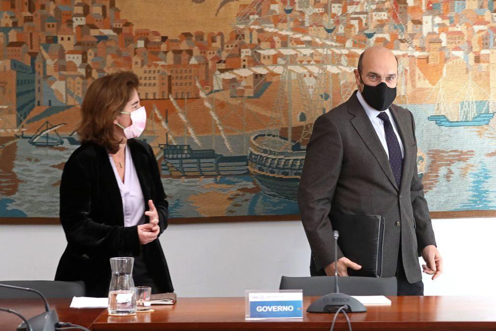 TAP: Siza Vieira diz que encargos salariais são superiores aos das congéneres europeias