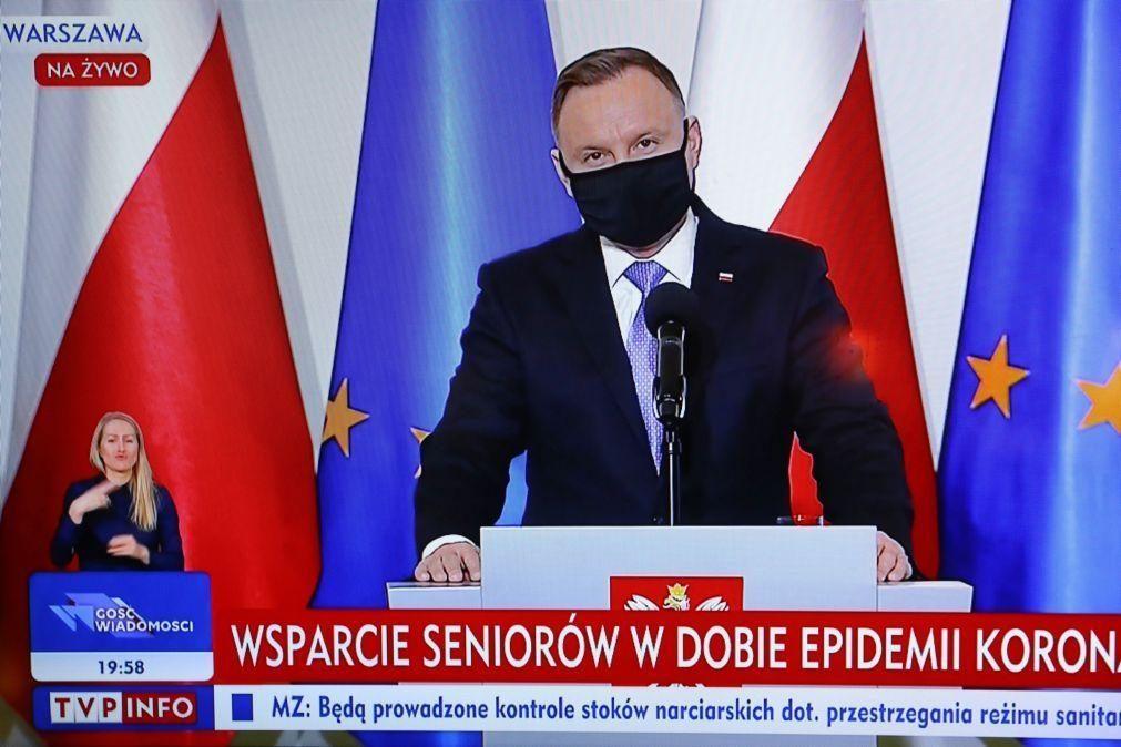 Polónia anuncia acordo preliminar sobre orçamento da UE e conversações em curso