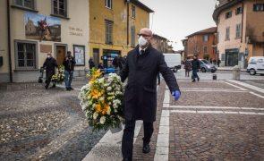 Covid-19: Mortes em Itália baixaram para 499 nas últimas 24 horas e há menos novos casos
