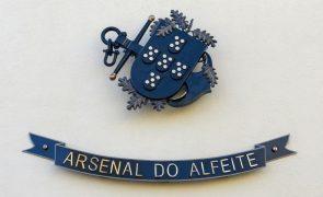 Arsenal do Alfeite admite situação crítica e aguarda verbas para pagar salários
