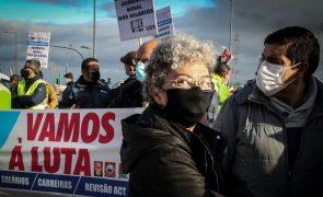 CGTP ficou insatisfeita com aumento de 30 euros para o salário mínimo nacional