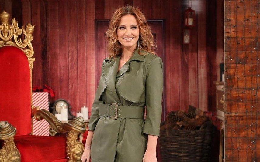 Cristina Ferreira O vestido verde que deixou as fãs eufóricas está em saldos e nós dizemos-lhe onde comprar