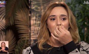 Rosa Bela Namorada de Carlos Areia assume ter tido vergonha da surdez dos pais