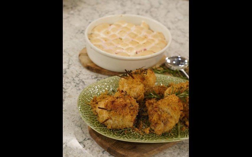 Puré de batata doce com marshmallows A receita original de Rúben Pacheco Correia