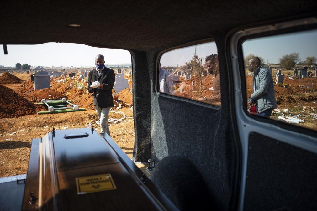 Covid-19: África com mais 352 mortes e 19.578 infetados em 24 horas