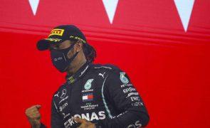 Lewis Hamilton está recuperado e vai participar no GP de Abu Dhabi