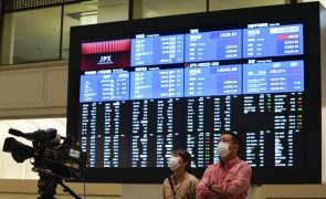 Bolsa de Tóquio fecha a perder 0,39%