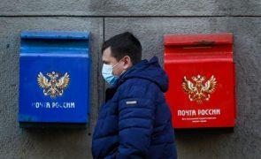 Covid-19: Rússia regista novo recorde de 613 mortes em 24 horas