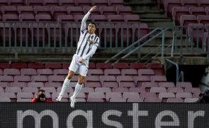 Cristiano Ronaldo finalista do prémio The Best, com Messi e Lewandowski