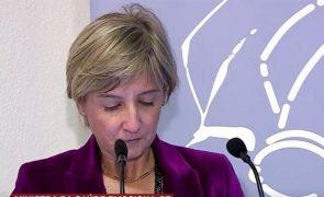 Marta Temido. Ministra da Saúde em lágrimas ao recordar esforço no combate à covid-19