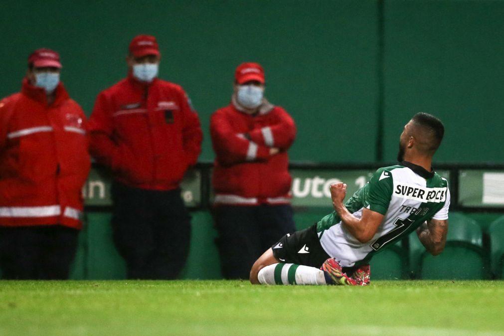 Sporting vence Paços de Ferreira e apura-se para os oitavos de final da Taça