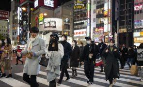 Covid-19: Japão ultrapassa pela primeira vez os 3.000 casos diários