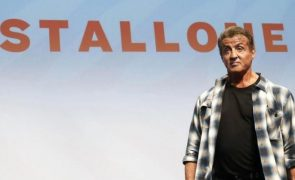 Sylvester Stallone Ator está irreconhecível. Botox a mais?