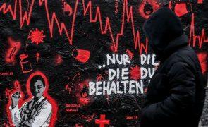 Covid-19: Alemanha soma 20.200 novas infeções e 321 mortes