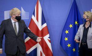 Brexit: União Europeia e Reino Unido vão prosseguir negociações