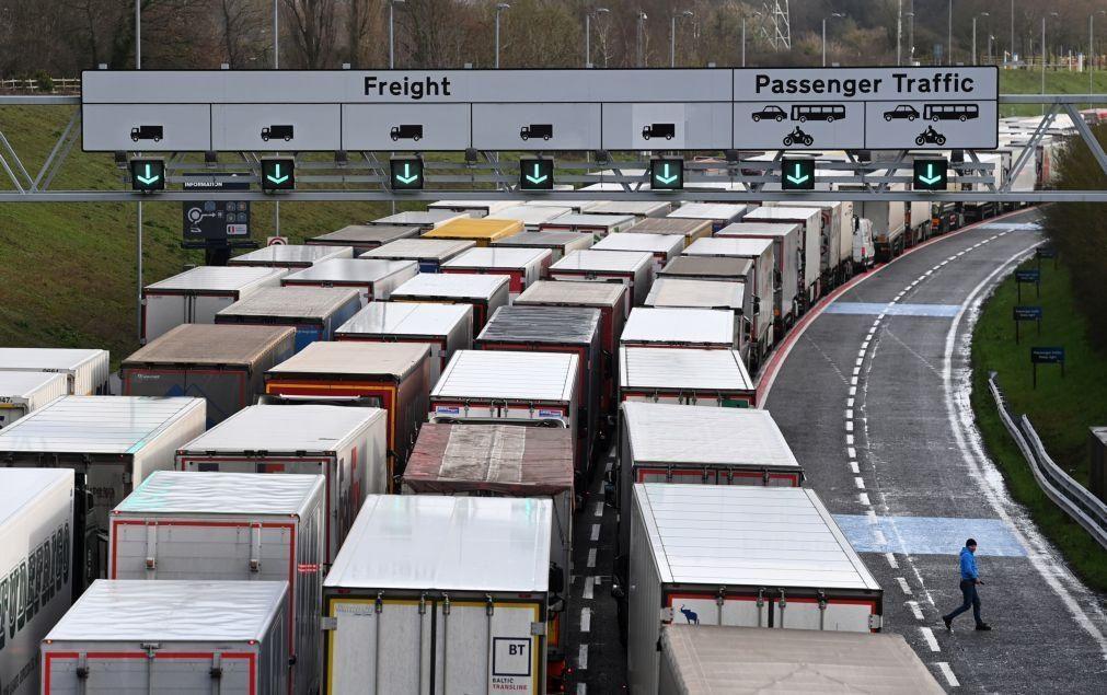 Brexit: Caos nos acessos ao Canal da Mancha em França